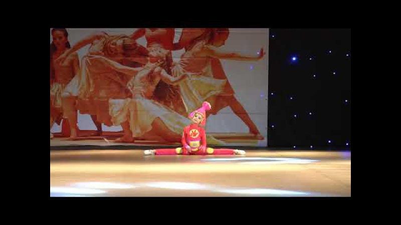 Костылева Анна, танцевальное шоу Фиксик, школа танца I'M DANCE