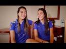 Seleção Feminina Sub-20 Gêmeas Andressa e Stefane atuam juntas pela primeira em partida oficial