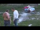 Жестокая драка мужиков. Хорошо наказали пьяных!!!!