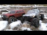 Сравнительный тест-драйв Redcat Everest Gen7 и Remo Hobby Trial Rigs Truck в гряземесе