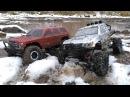 Сравнительный тест драйв Redcat Everest Gen7 и Remo Hobby Trial Rigs Truck в гряземесе