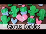 How to Make Decorated Cactus Cookies