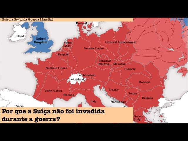 Por que a Suíça não foi invadida durante a Segunda Guerra Mundial