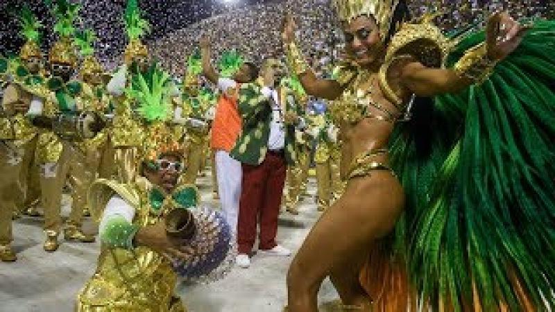 Rio Carnival 2018 [HD] - Floats Dancers   Brazilian Carnival   The Samba Schools Parade