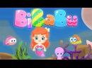 NUOVO!! BiBaBu: la parola magica: Gli animali marini e la piccola sirenetta! Cartoni 2018
