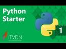 Python Starter. Урок 1. Введение в Python.