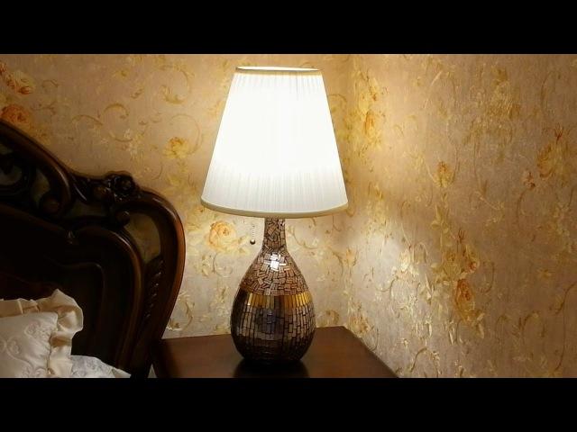 Настольная лампа, своими руками.