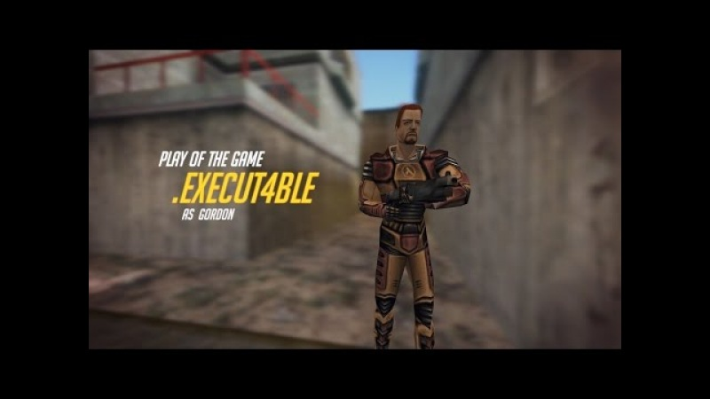 If Half-Life Deathmatch had Play of the Game