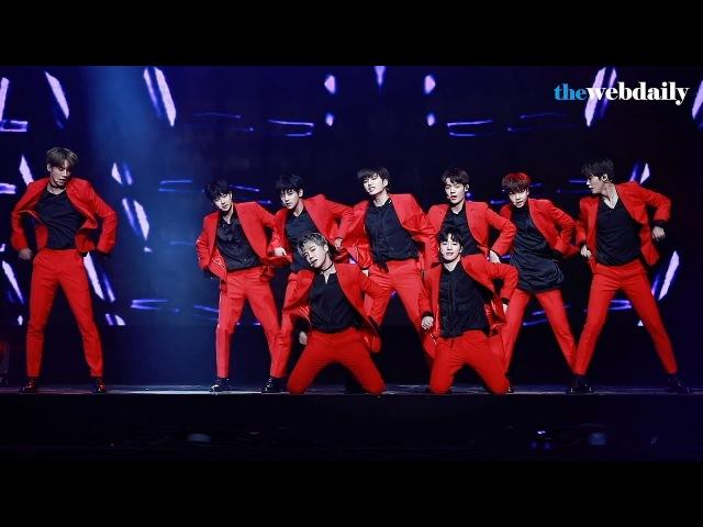 [WD영상] 유앤비(UNB) Dancing with the Devil 'Thanks to 팬미팅' 기자간담회 라이브 공연
