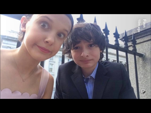 Millie Bobby Brown and Finn Wolfhard -Funny/Cute moments