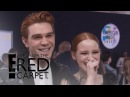 KJ Apa Madelaine Petsch Take Riverdale to the 2017 AMAs E! Live from the Red Carpet