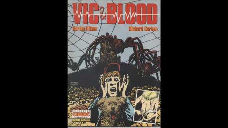 CIMOC Nº72 Vic Blood Un chico y su perro cómic en la descripción