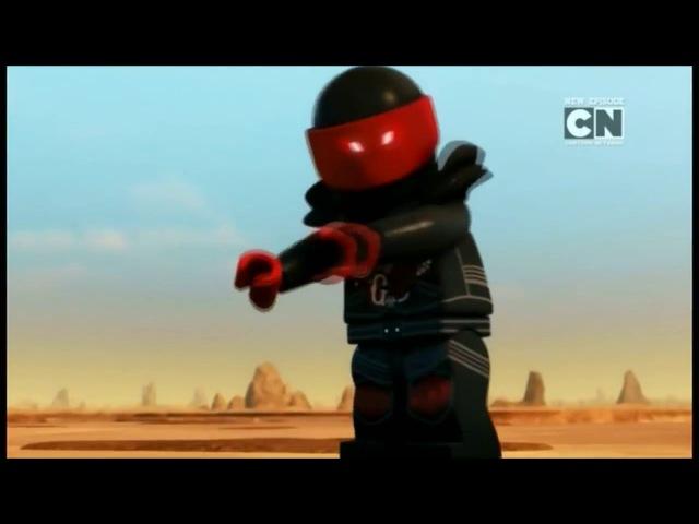 Ninjago Season 8: Zane vs Mr. E [CLIP]