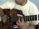"""Jimmy Hendrix - Little Wing """"Acoustic Fingerstyle Guitar"""" - Omen Ranger"""
