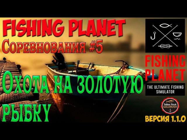 FishingPlanet 5. Охота на золотую рыбку