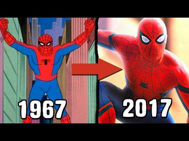 All Spider-Man Cartoon's intros(1967-2017)