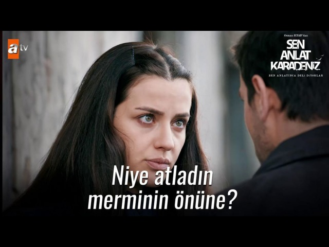 """Sen Anlat Karadeniz on Instagram """"Niye atladın merminin önüne . SenAnlatKaradeniz @sinegrafofficial @atvturkiye"""""""