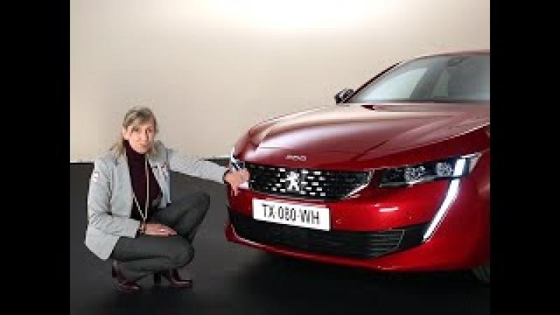 A bord de la Peugeot 508 (2018)