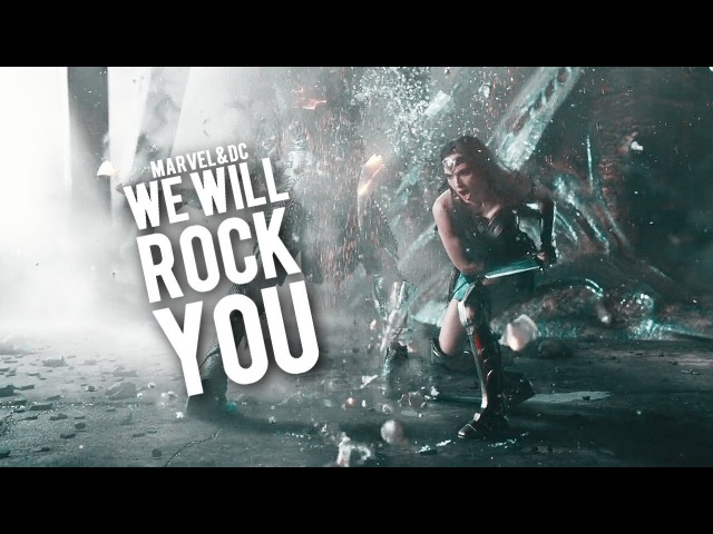 MARVELDC | We will rock you.