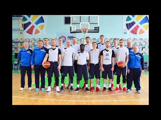 Відкрите тренування Національної збірної напередодні матчу з Латвією