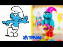Make SMURFS ( Xi-Trum ) - DIY Easy Gifts Toys For Kids and Family TooHee