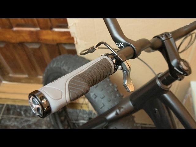 Строим фэтбайк: протяжка троса дроппера внутри рамы и монтаж педальки управления