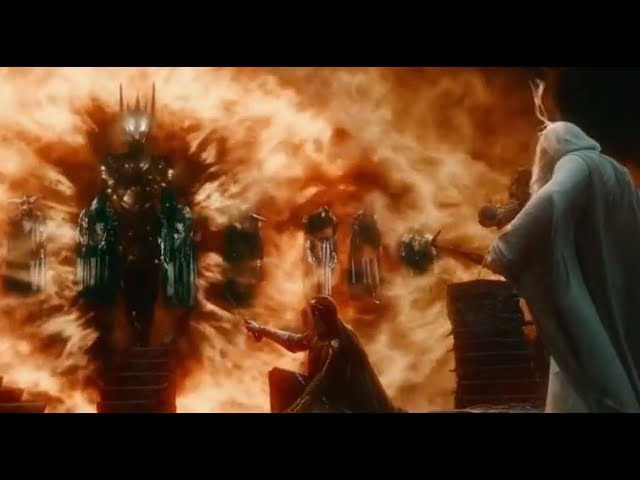 Dark Lord SAURON Scenes * LOTR/Hobbit