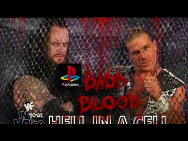 WWF Bad Blood 1997 - Shawn Michaels Vs. The Undertaker