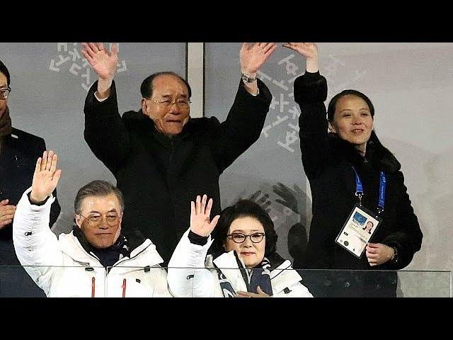 Kim Jong-undan Güney Koreye tarihi davet
