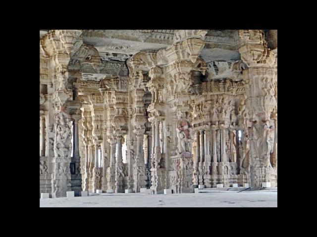 Поющие колонны в храме Виттала Хампи Индия
