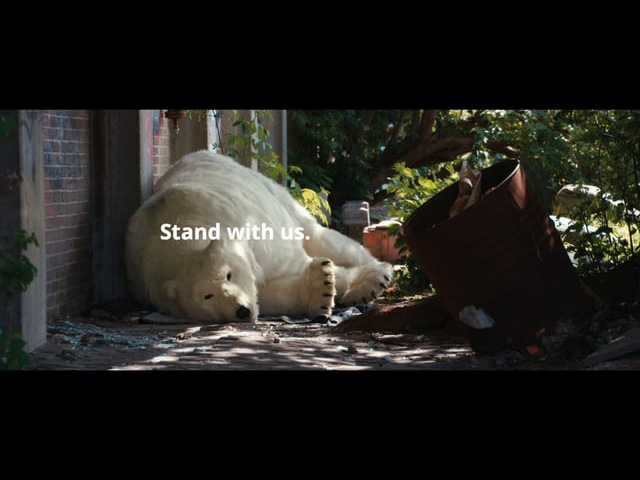 Greenpeace International: Save the Arctic Homeless Bear