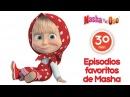Masha y el Oso - Episodios favoritos de Masha Mejor compilación de los dibujos animados