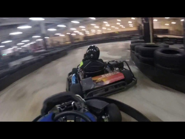 Turba Karting Hall 25.11.2017 Onboard Квалификация
