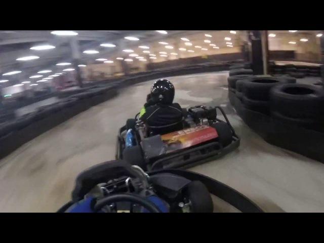 Turba Karting Hall 25.11.2017 Onboard Квалификация