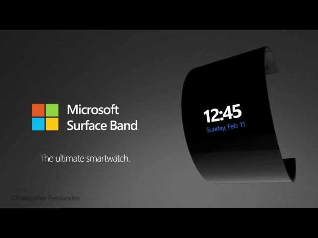 Microsoft Surface Band (Concept)