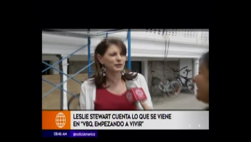 Leslie Stewart cuenta lo que se viene en VBQ Empezando a Vivir