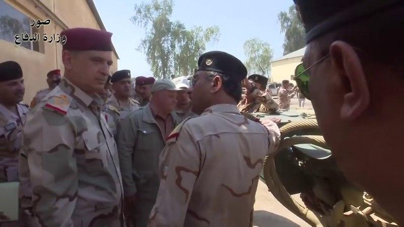 Демонстрация танков Т-90С иракскому командованию