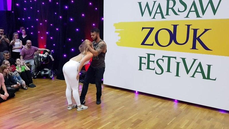 Arthur and Layssa - El Sol Warsaw Zouk Festival 2018 - Sunday