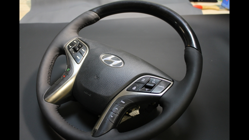 Перетяжка руля а/м Hyundai Grandeur