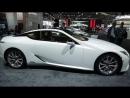 2018 Lexus LC500h Hybrid - Exterior And Interior Walkaround