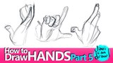 DRAWING HANDS WITH GESTURE