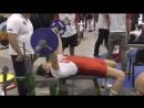 RUSSIAN BERSERK - Жим  штанги лежа 1\2 своего веса на 90 раз в 50 лет