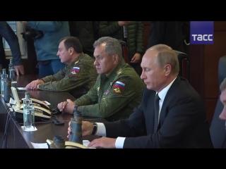 Путин посетил учения 'Запад-2017'