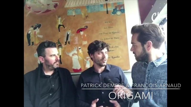 François Arnaud Patrick Demers - Origami interview with Jordan Dupuis, April 2018