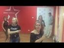 Ксения Александрова. Видео с класса по женскому стилю. Новороссийск 18/02/2018