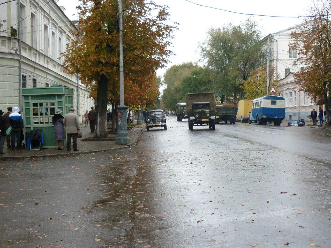 В Таганроге со 2 по 7 ноября из-за съемок сериала «Зеленый фургон» перекроют движение в центре города