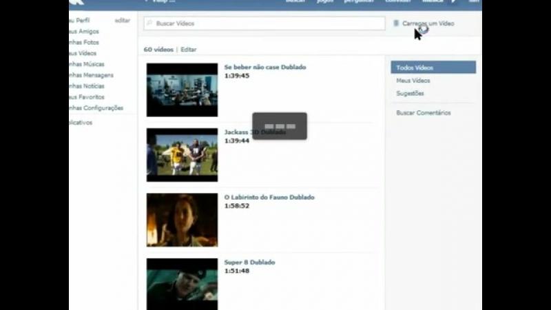 Como colocar filmes e séries online em seu site ou blog (VK)