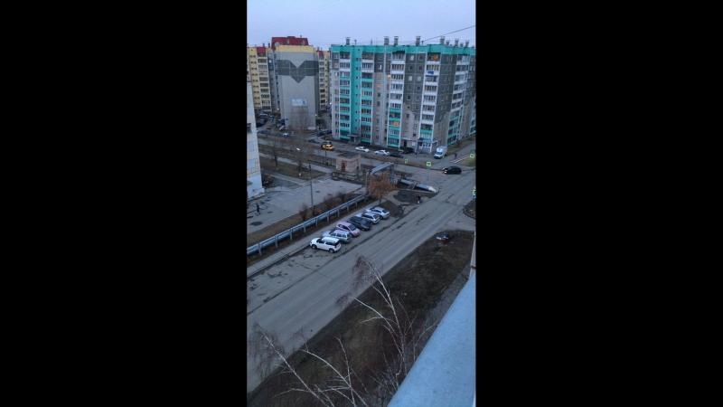 Челябинск с высоты 7 этажа