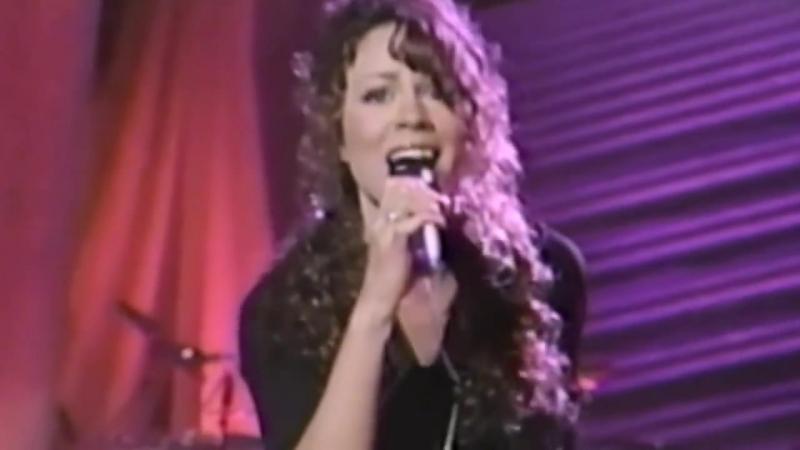 Mariah Carey - Dreamlover (live at Arsenio Hall 1993)