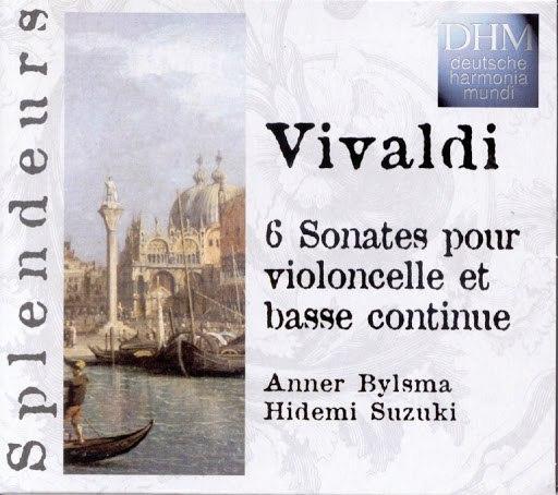 Anner Bylsma альбом Vivaldi: 6 Sonatas Violoncelle Et Basse Continue